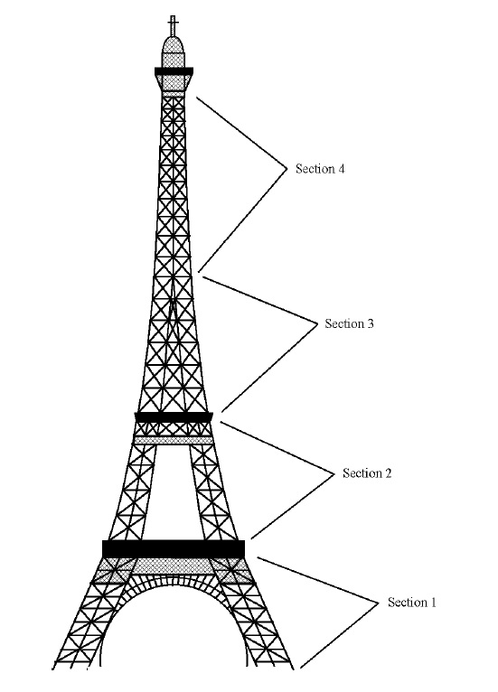 How To Make An Eiffel Tower Cake Topper