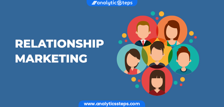 The image stresses on relationship marketing