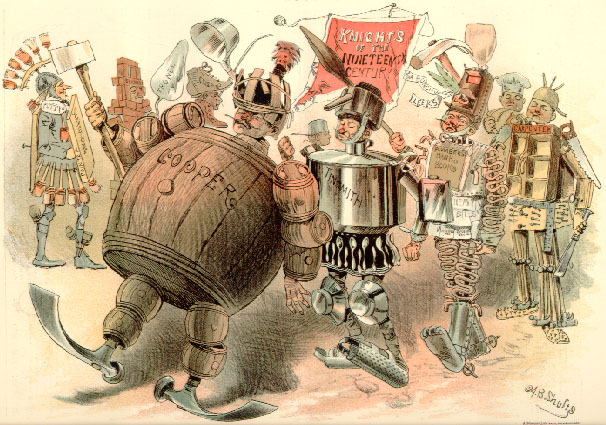 an analysis of the american labor movement of the nineteenth century The repression of 1886 led to a rapid decline for the knights of labor, but the events of that year also gave rise to a very different kind of union movement, the american federation of labor (afl), which took several lessons away from the failures of the knights.