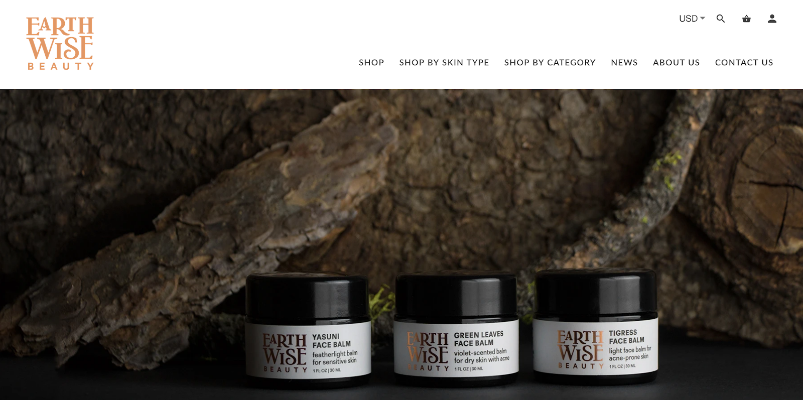 Earth Wise Beauty | Organic Skincare Products