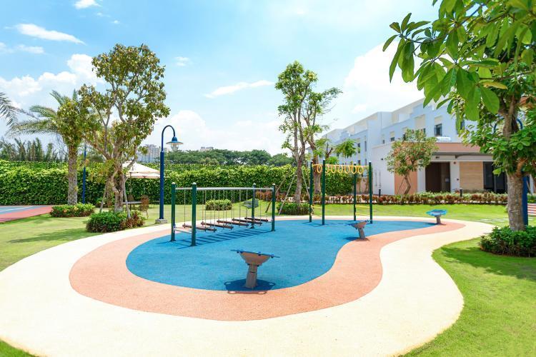Khu vui chơi tiện ích đảm bảo cho cư dân không gian sống lành mạnh cho chủ nhân của 296 căn nhà