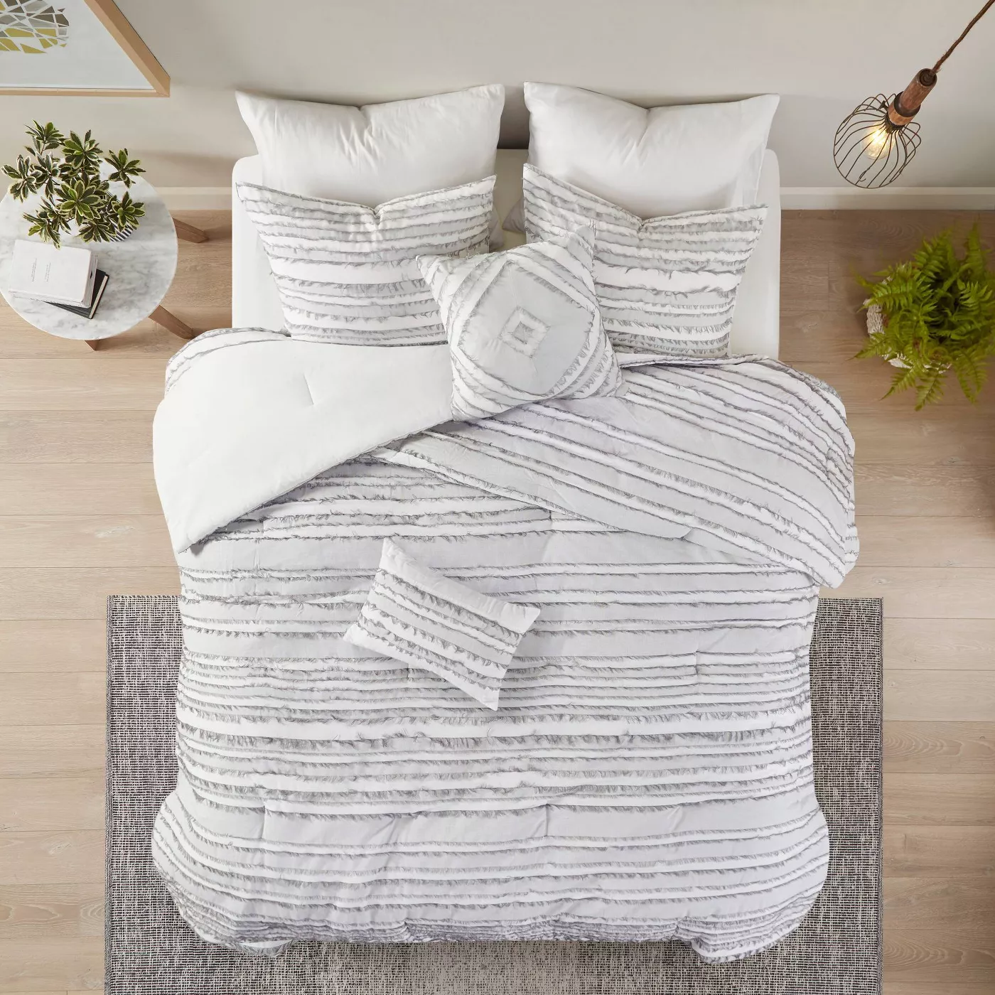 modern apartment bedroom