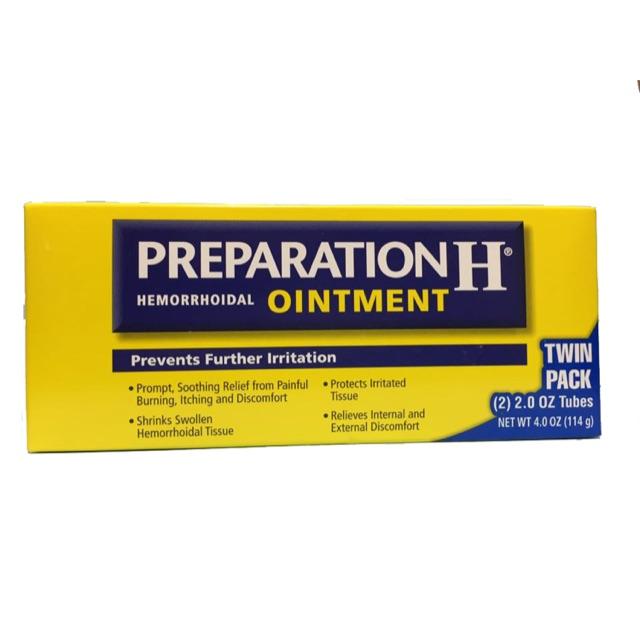 Hình ảnh thuốc preparation H của Mỹ