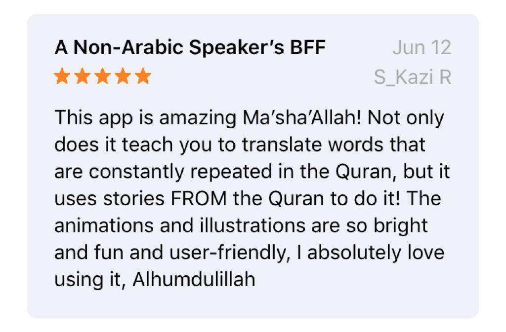 Projects | Quranic: Understand Quran with Friends! | LaunchGood