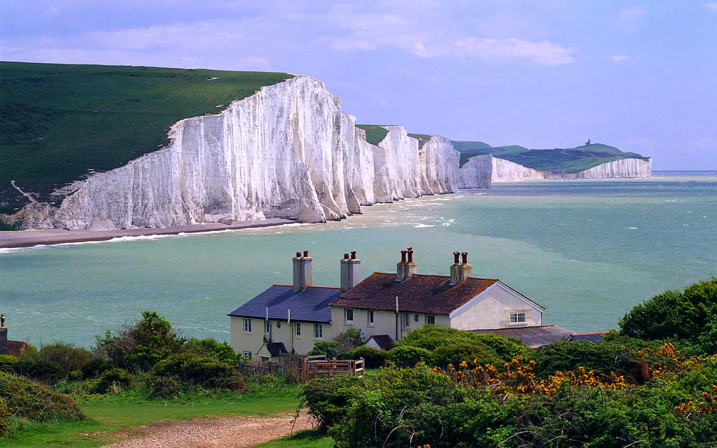 Seven Sisters Cliffs, near Seaford town, East Sussex, Engl… | Flickr
