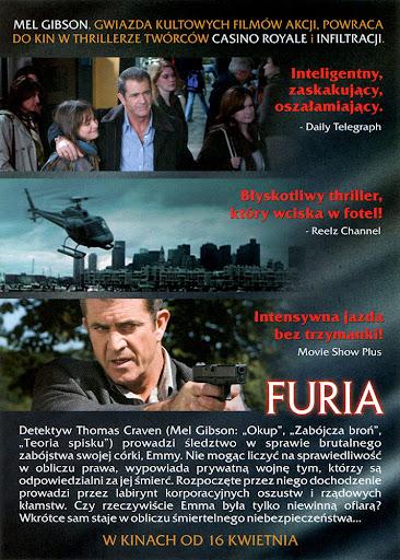 Tył ulotki filmu 'Furia'