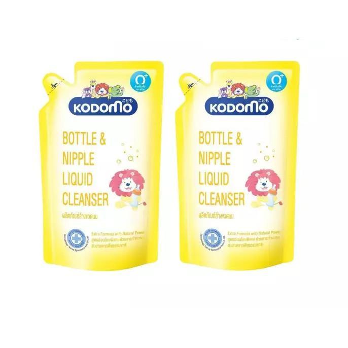 6. KODOMO น้ำยาล้างขวดนม Bottle & Nipple Liquid Cleanser