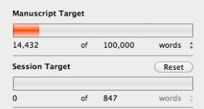 Scrivener Word Count Targets