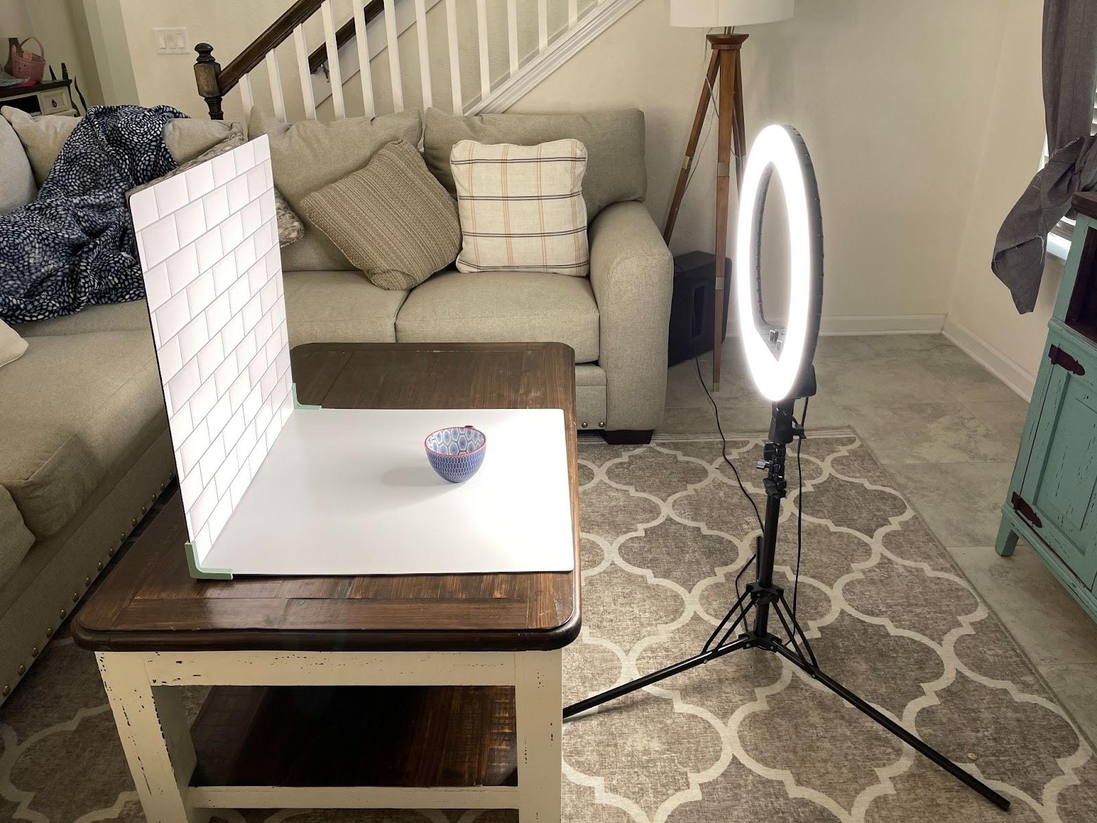 If you can't use natural light for your Etsy product photography, consider buying lighting equipment.