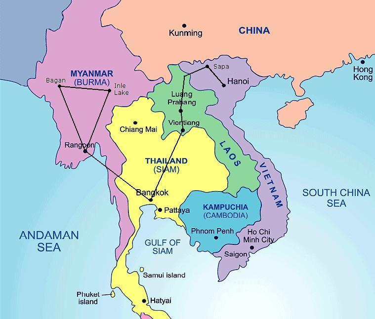 Itinerary of solo backpacking trip to Southeast Asia