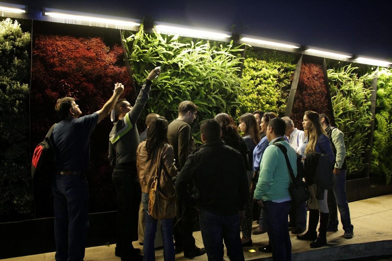 Curso de jardines verticales Barcelona 2014