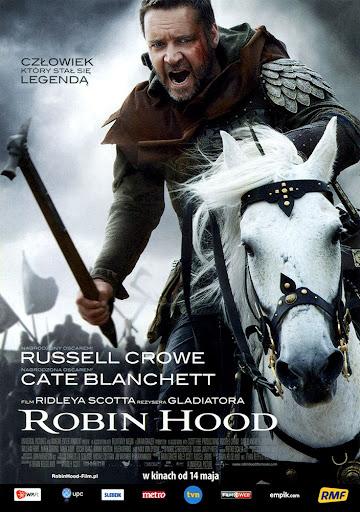 Przód ulotki filmu 'Robin Hood'