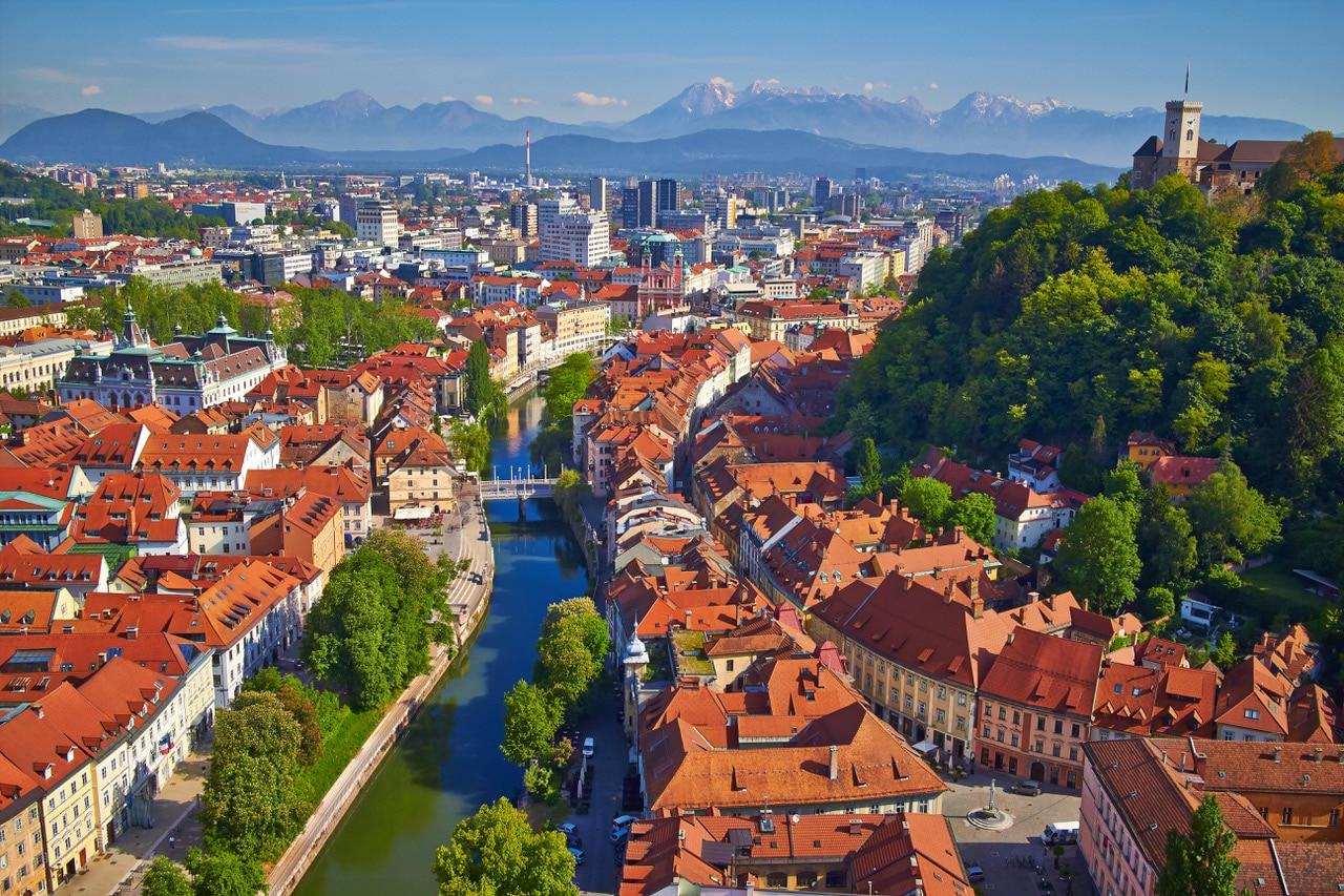 Liubliana - cidades da Eslovênia