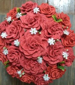 Hoa giay handmade dep nhan ngay 2010