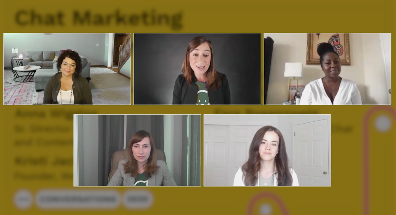 Chat Marketing Women who Rock at Conversations 2020