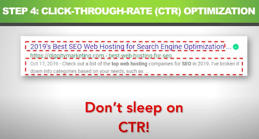 Оптимизация CTR