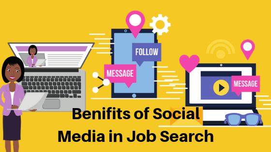 iş aramak için sosyal medya
