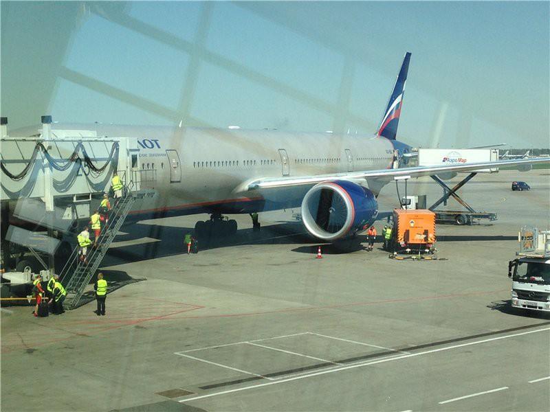 Наш самолет готовят к отлету США глазами туриста, туризм, факты
