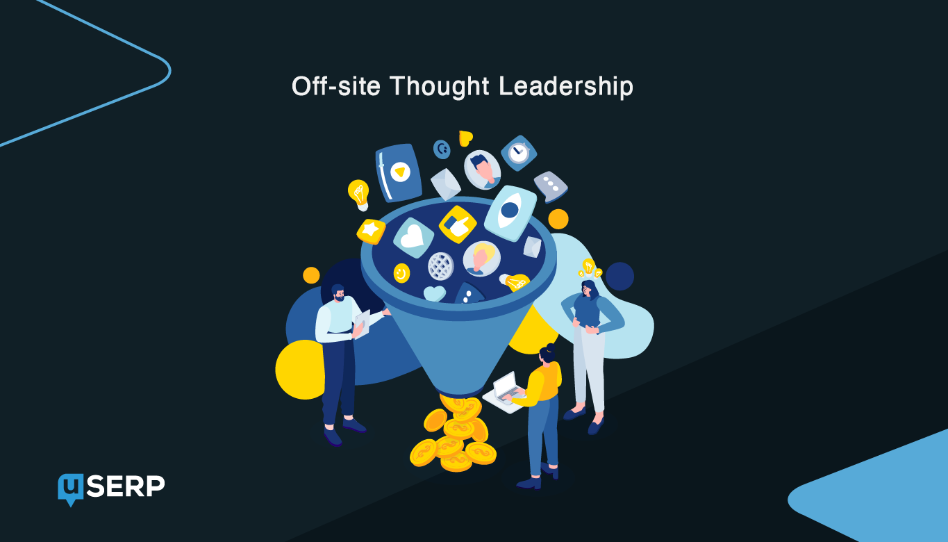 Outreach Link Building via thought leadership
