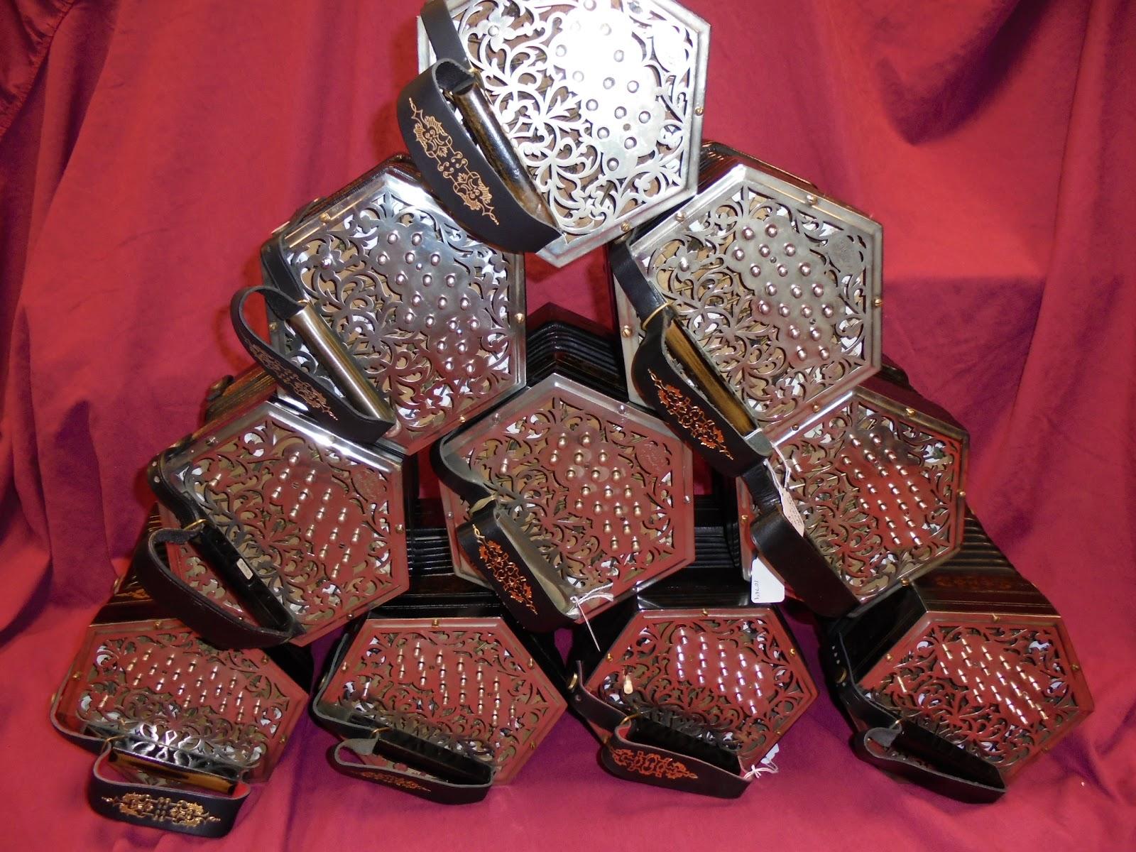 barleycorn concertinas pyramid of Jeffries concertinas