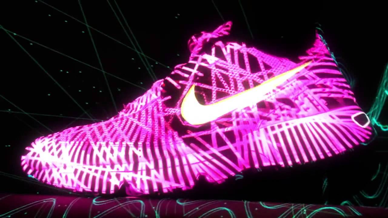 Video Mapping Nike Zapato