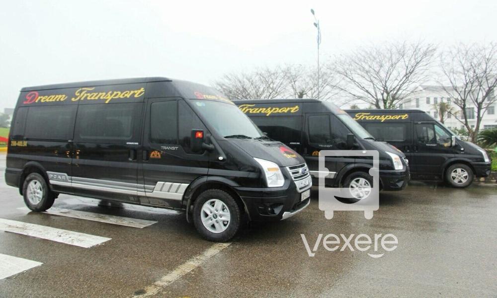 Xe limousine đi Sapa từ Hà Nội: Dream Transport