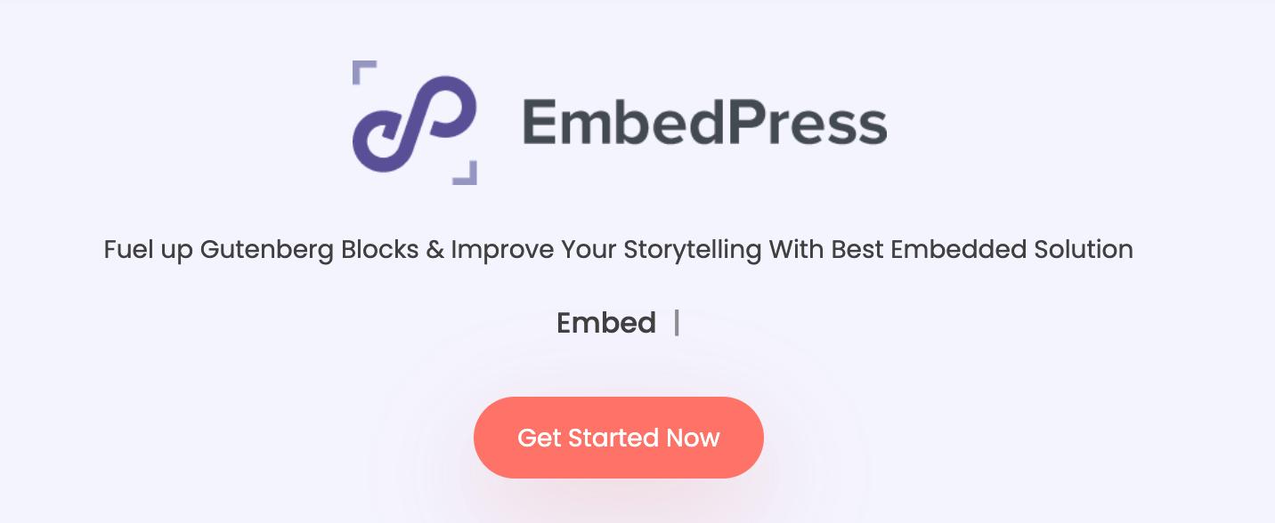EmbedPress WordPress PDF Plugin Download