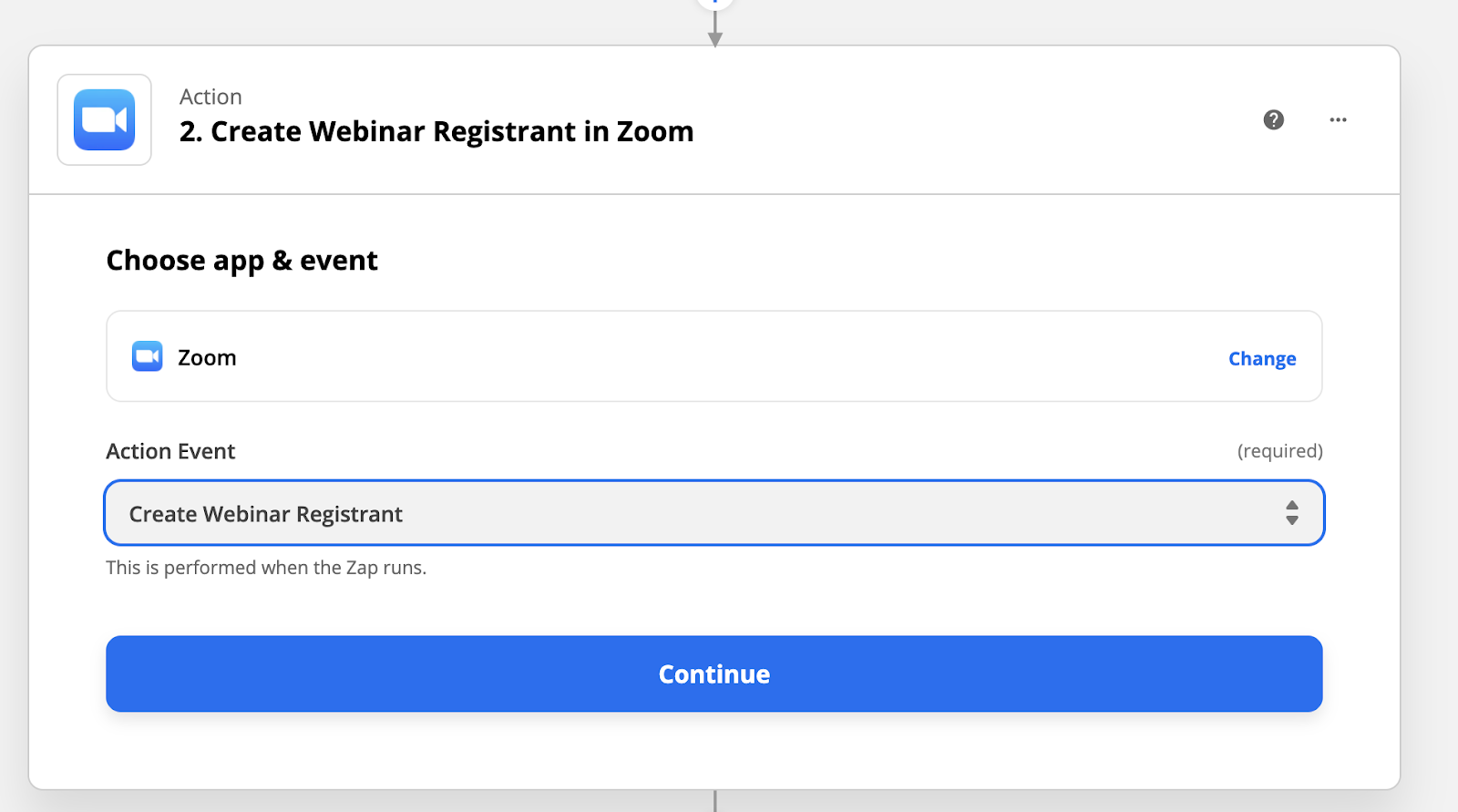Connecting webinar software to Zoom