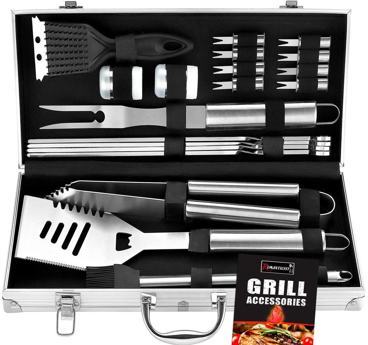 If your dad loves to fire up the grill, get him this great BBQ grill set