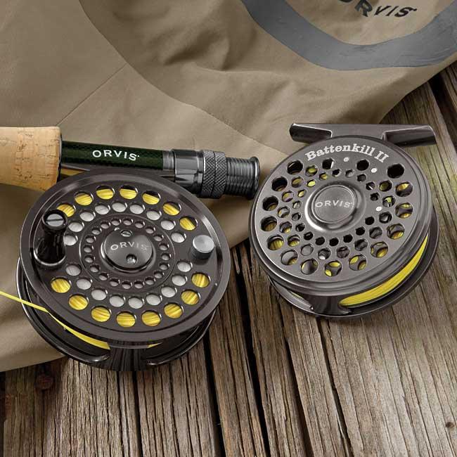 Orvis Battenkill Reelreview Orvis fly fishing reels review