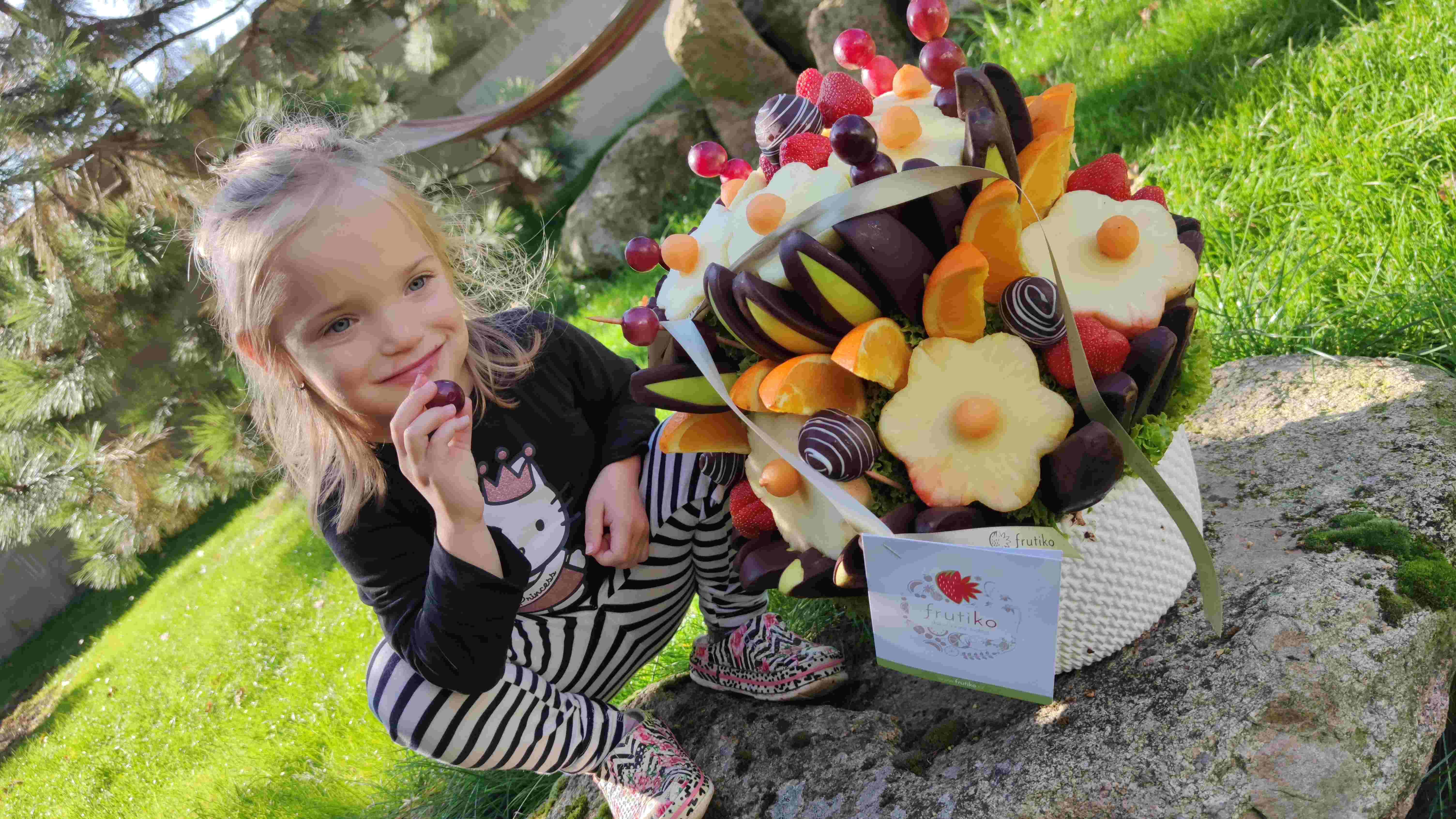 Recenze Frutiko: Jedlá kytice, ovocná kytice