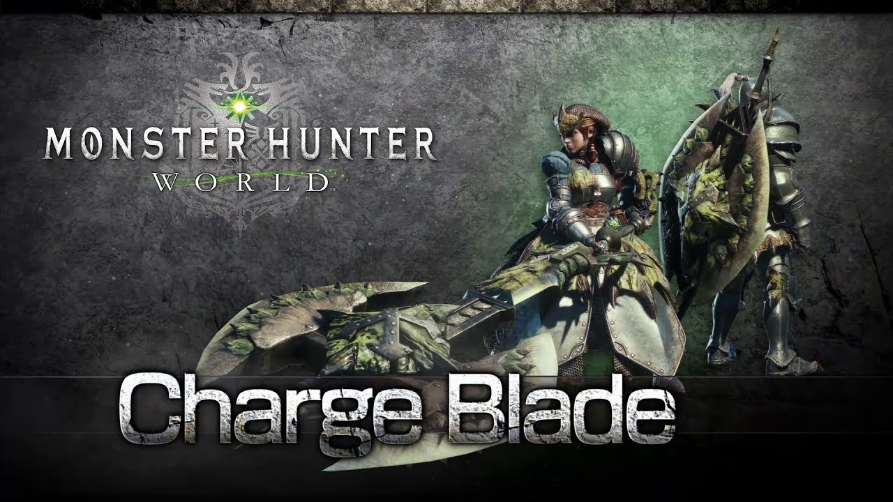 charge blade Monster Hunter World: Iceborne solo weapons