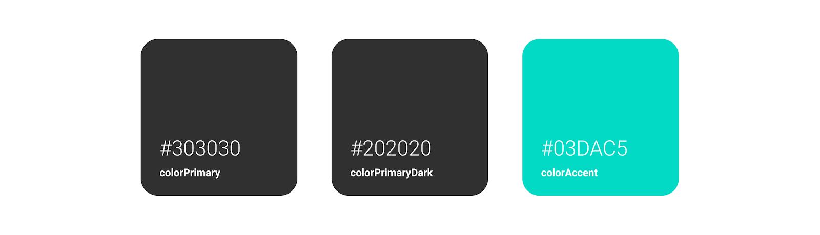 Dicoding Color schema