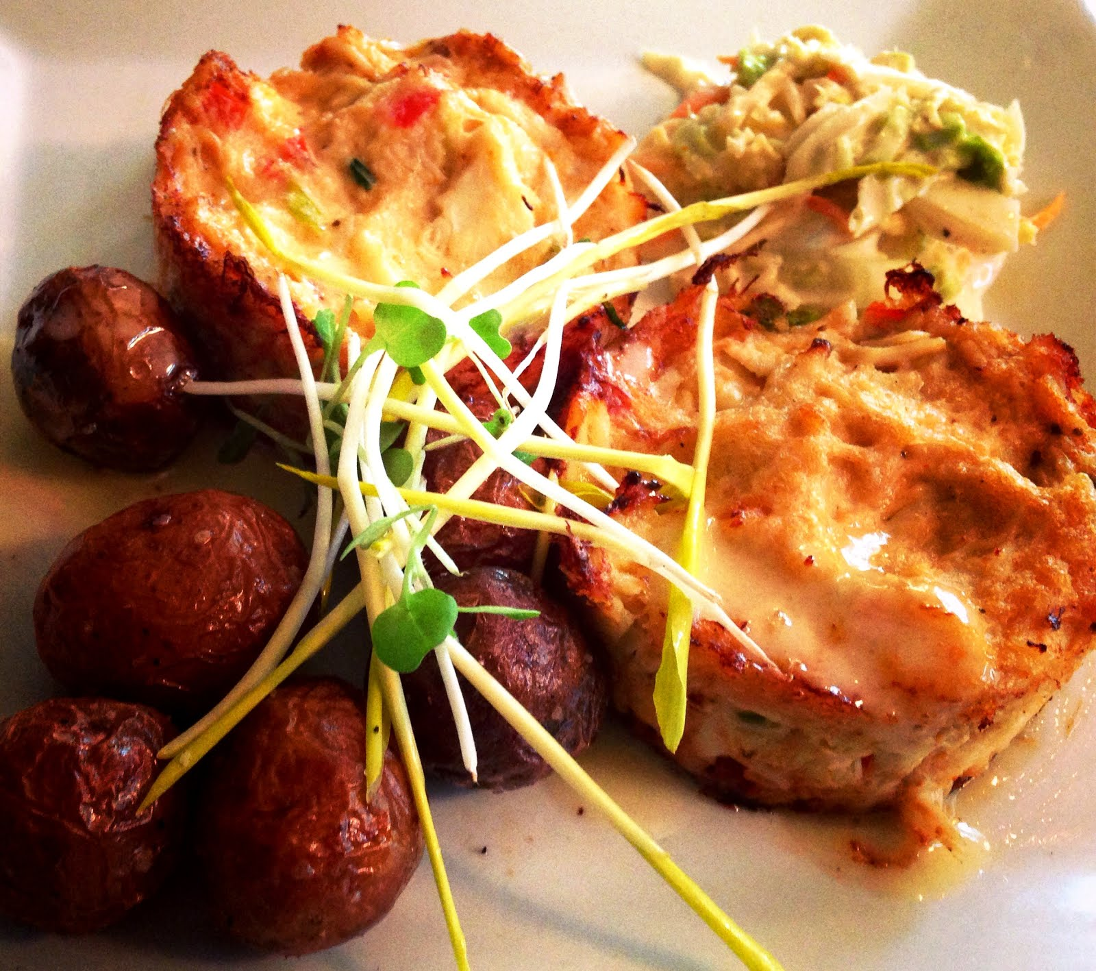 """FireFly """"An American Bistro"""", Maryland Crab Cakes"""
