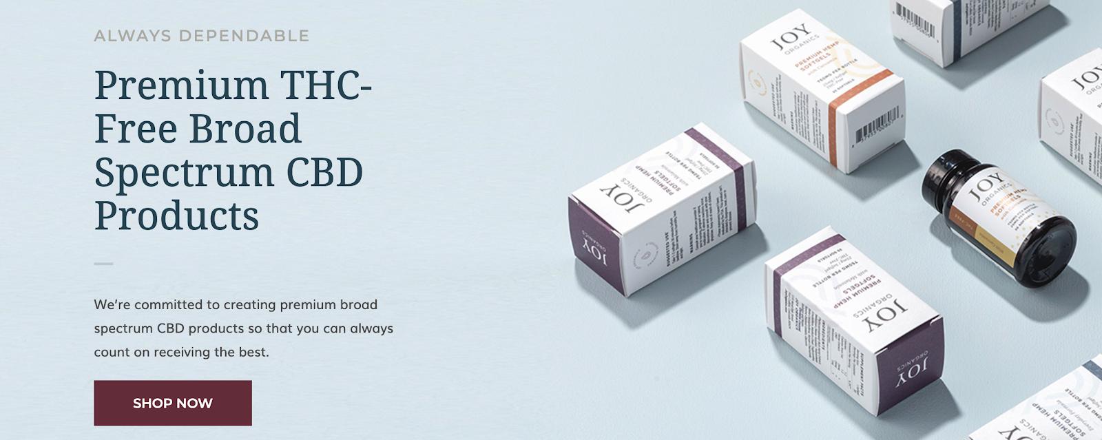 Joy Organics - CBD Health Brand
