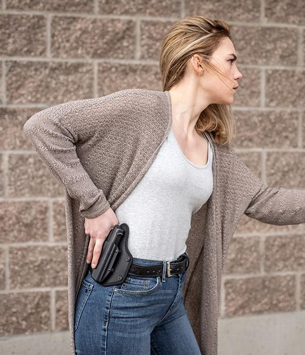 on the waistband holster for women