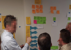 People Collaborating to Define Product