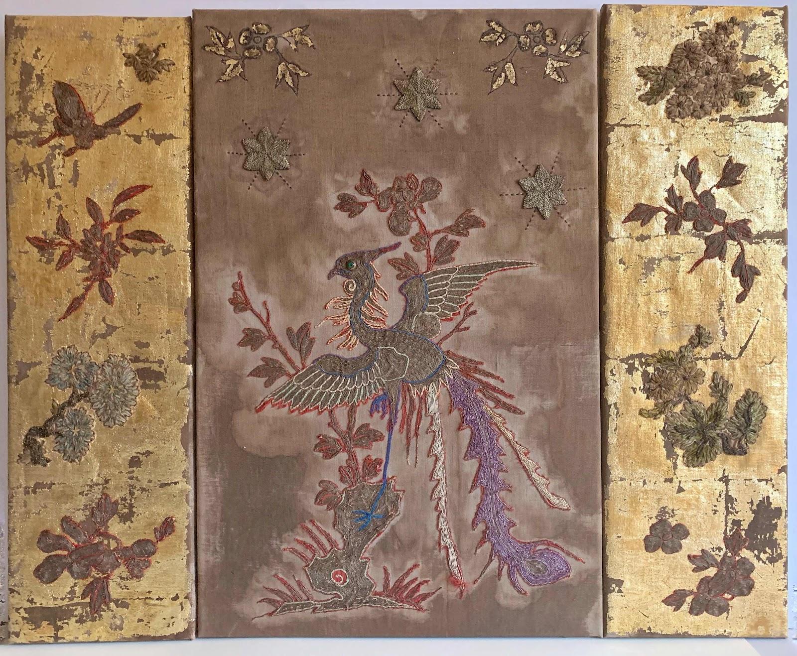 triptych of phoenix's