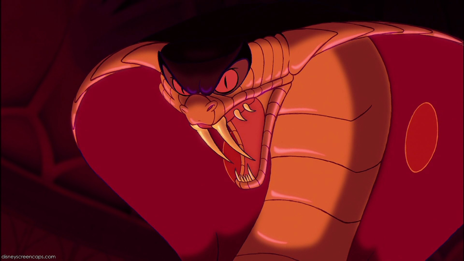 Jafar as a snake