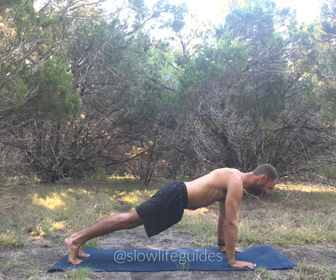best yoga poses for core strength - plank