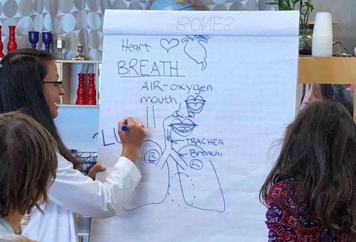 science enrichment Dr Amy Guralnik