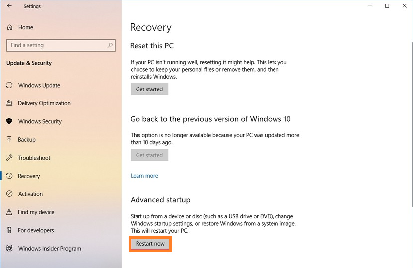 Fix startup problems in Windows 10 by using startup repair