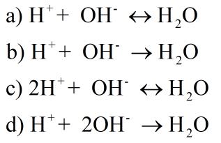 following equations