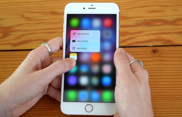 Khắc phục tình trạng iPhone loạn cảm ứng