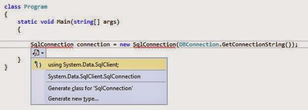 SQL connection