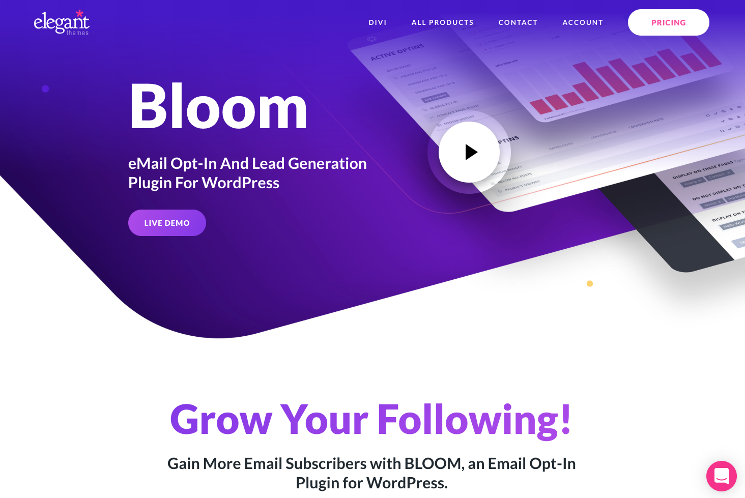 Bloom opt-in plugin.