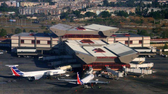 哈瓦那的何塞·馬蒂國際機場