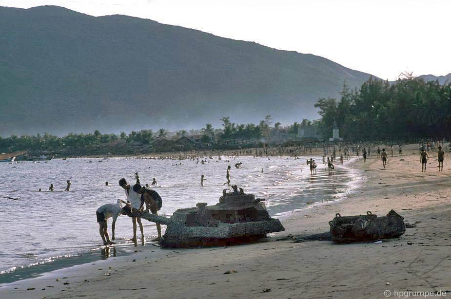 Qui Nhơn - Trên bãi biển, Panzerstest