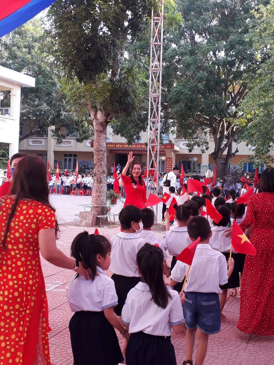 Trường Tiểu học Bích Động, Huyện Việt Yên, Tỉnh Bắc Giang chào mừng năm học mới 2020-2021