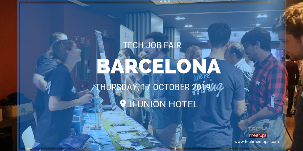 JOIN BARCELONA TECH JOB FAIR 2019